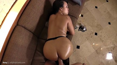 Asian tranny, Shemale fucks shemale, Many, Sexy tranny