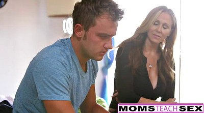 Julia ann, Step son, Julia, Son creampie