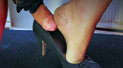 Stockings hd, Nylons handjob