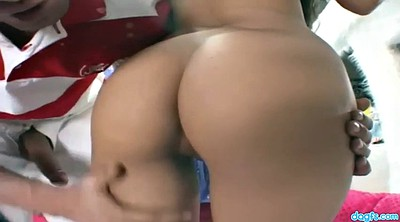 Cream, Latina doggy fucking brunette, Latina doggy fucking, Cheerleaders