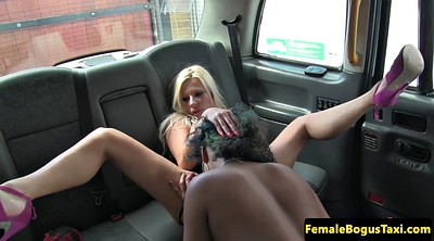 Taxi, Lesbian close up, Female