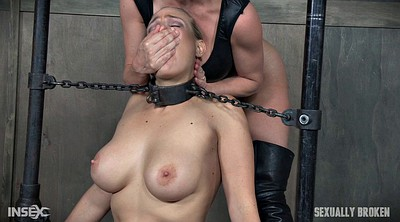 Strapon, Deep throat, Leather