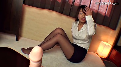 Feet, Asian feet, Rubber, Japanese feet, Solo japanese, Small dick