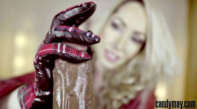 Gloves handjob
