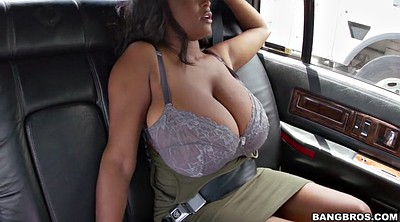 Tease, Solo big boobs, Car solo