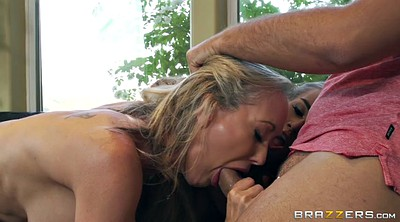 Brandi love, Deepthroat, Lesbian threesome, Janice griffith