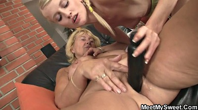 Old young, Trick, Mom teach sex