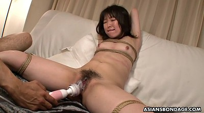 Aoi, Tied tits, Hairy creampie