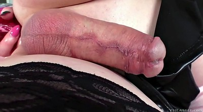 Shemale feet, Transsexual, Shemale footjob
