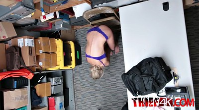 Thief, Blonde teen, Room