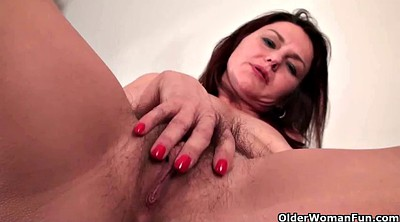 Cougar, Hairy french, French mature