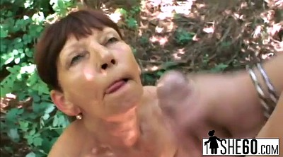 Mature outdoor, Granny outdoor, Forest