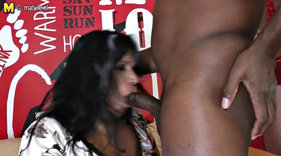 Black milf, Black granny, Amateur interracial