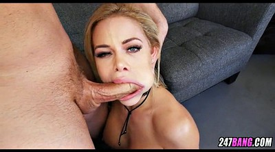Throat, Sloppy blowjob