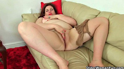 British, Nylons, Nylon milf