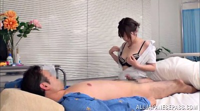 Nurse, Nurse asian, Nurse handjob, Natural, Asian nurse