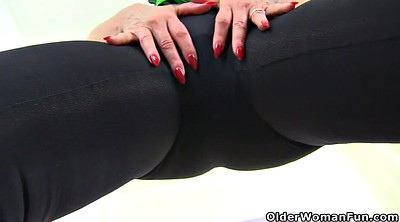 Leggings, British, Red milf