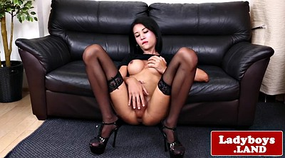 Asian, Ass show, Solo ass, Shemale asian, Latex shemale