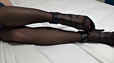 Footjob, Stockings foot, Stockings feet, Stocking