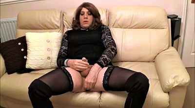 Boot, Sexy, Alison, Crossdress, Plug, Crossdressing