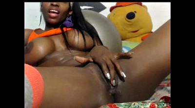 Webcam squirt, Squirting, Squirt black, Squirt solo, Ebony solo