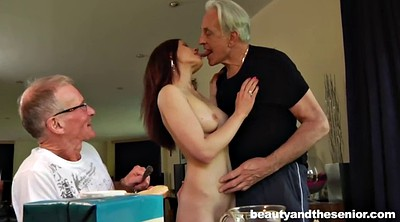 Old guy, Two old, Old threesome, Old fuck