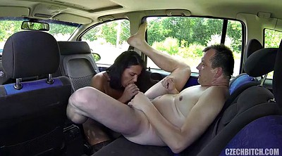 Taxi, Czech taxi, Public nudity