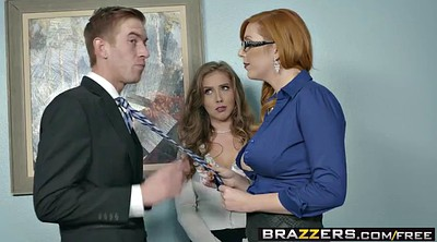At work, Big girl, Brazzers big tits, New girl, Big tits at work