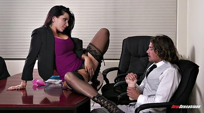 Romi rain, Office lady, Office boss, Hungry