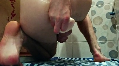 Gay fisting, Cum in ass, Huge toys, Huge toy, Cum fisting, Amateur gay