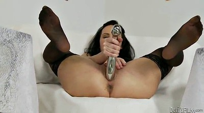 Stocking, Stockings masturbating
