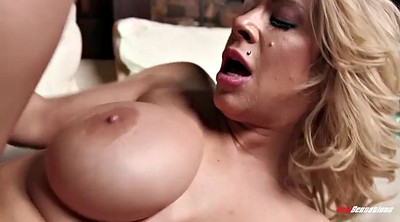Chubby, Stepson, Eating, Eat, Matures, Blonde cougar