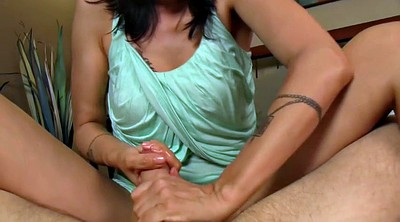 Mom son, Changing, Mom handjob, Handjob mom