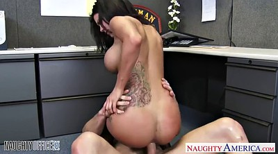 Beauty, Big boobs, Milf boss, Huge boobs