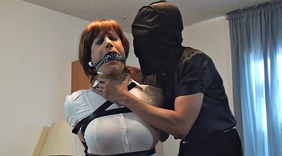Bound, Sandra, Crossdresser bondage