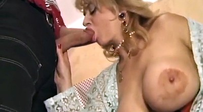 Hairy, Double blowjob, Blonde gangbang