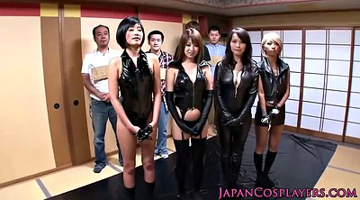 Leather, Japanese masturbate, Japanese handjob, Japanese fetish, Japanese group, Competition