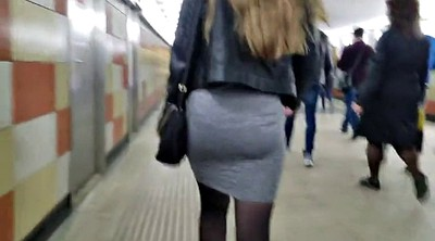 Ass, Skirt, Hidden cam, Big ass cam