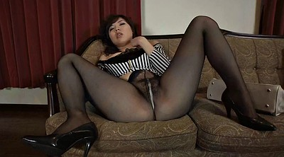 Asian, Japanese pantyhose, Japanese pussy, Hairy pussy, Japanese nipple, Yoga japanese
