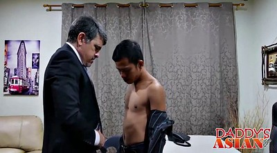 Asian gay, Daddy anal