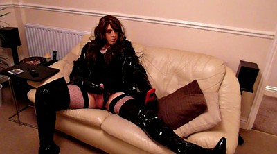 Boots, Thighs, Pvc