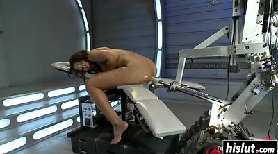 Machine, Ebony masturbation, Used, Fuck machine, Machine fuck