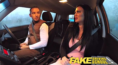 Creampie, Exam, Fake driving school, Fake creampie, British school