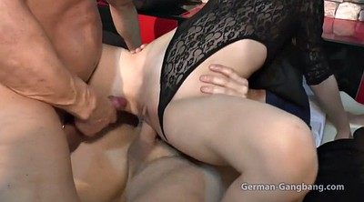 German, Gangbang creampie, German gay