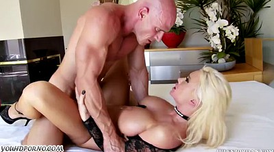 Mature, Mature blonde gets fucked