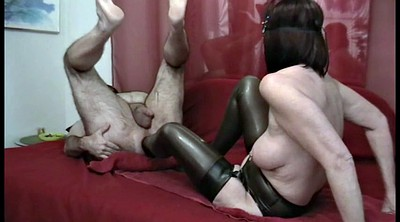 Feet, Foot fist, Stocking anal, Fisting anal, Latex anal, Fisting foot