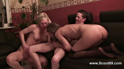 School, Boys, Milf boy, German casting, Black mother