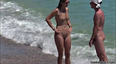 Beach, Naked, Nudist, Nudism, Nudist beach, Milf cam