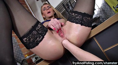 Lesbo, Fisting anal, Fist anal, Ass fisting