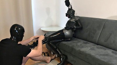 Train, Training, Trained, Latex bondage